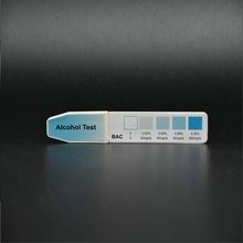 One step rapid medical diagnostic test,Saliva Alcohol Test Strip