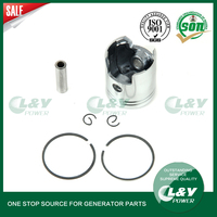 ET950/650 Piston Assy with Rings Fit For Gasoline Generator Spare Parts