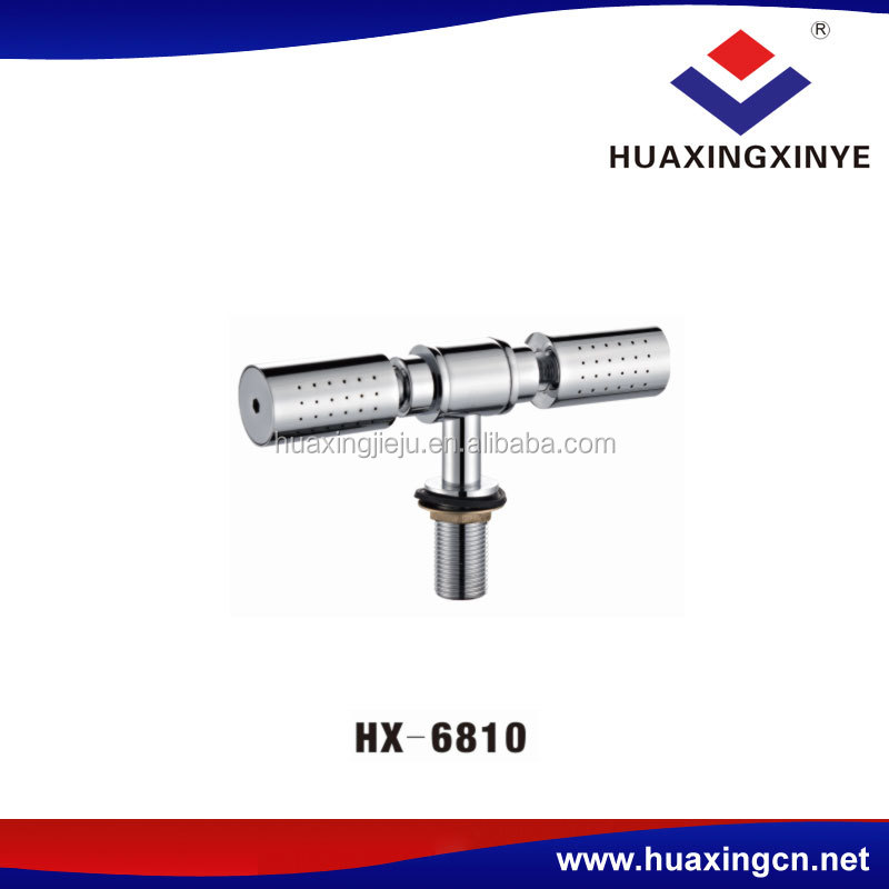 China faucet manufacturer top mounted bath room faucet mixer HX-6810 shower faucets taps small copper rain shower head