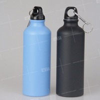 Hot sale new aluminum water bottles with straws