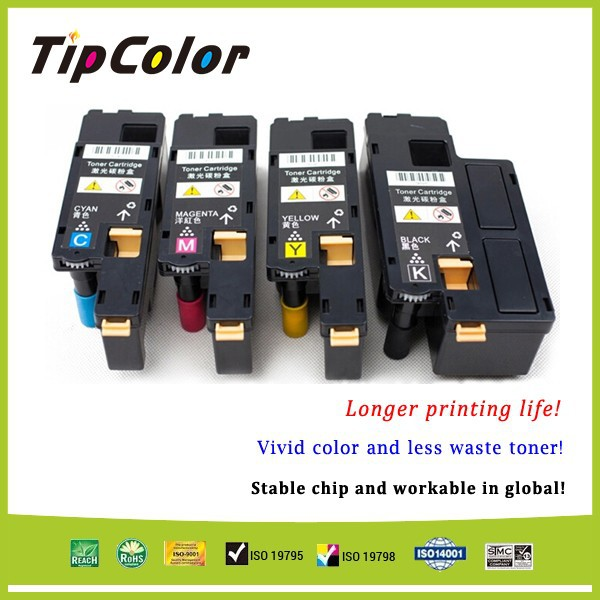 Compatible Xerox 106R01630 Color Toner Cartridges For Xerox Phaser 6000, 6010 With Clearer Line