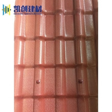 Popular asa coated plastic construction products decoration material resin roofing sheets