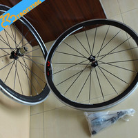 Wholesale chinese carbon clincher wheelset 700c road bike carbon wheels china
