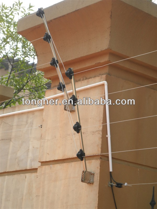 China Wall Top Anti-climbing Electric Fence with GSM Alarm