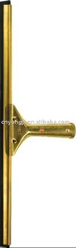 Professional Brass Window Squeegee