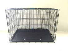 China supplier Large Powder coated High Quality Foldable Heavy Duty Stainless Steel Dog Cage dogs application dog aluminum cage