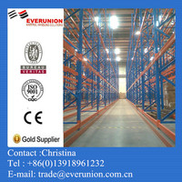 Shanghai Everunion Merchandise Display VNA Pallet Racking Pallet Racks