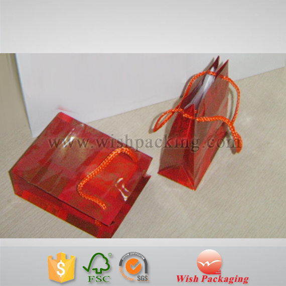 Mini small jewelry gift package shopping paper bag