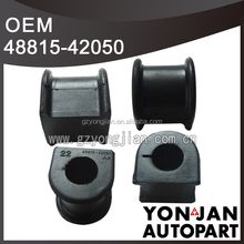 Car silicon rubber bushing 48815-42050 for Toyota Front Stabilizer Bushing D22