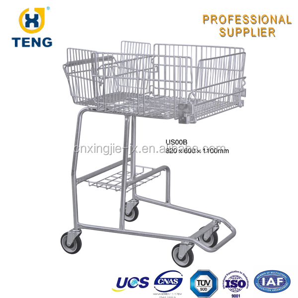 American Shopping Cart Iron Trolley