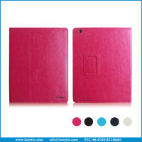 Smart cover case for Apple iPad 4 leather case with sleep wake-up function