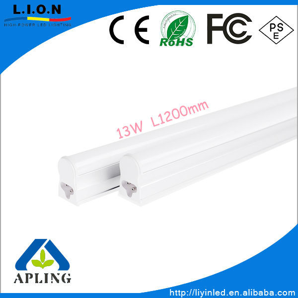 Hot Sale!13W led tube light T5 integrated lamps SMD3014 with 2 years warranty CE Rohs T5 Seamless tube