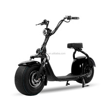 2017 fashion No Foldable and 6-8h Charging Time electric scooter woqu Q3 model Lithium battery adult citycoco
