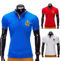 Clothing Manufacturer Men's Custom Embroidery 100% Cotton Sublimated Polo Shirts