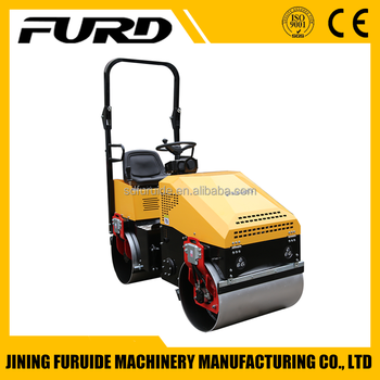 Full Hydraulic High Quality 1 Ton Compactor Vibratory Roller (FYL-890)