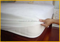Terry fabric TPU coated mattress cover/ waterproof hospital mattress protector