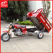 China Kavaki Original Factory Custom Three Wheel Motorcycle For Cargo And Passenger