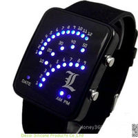 NEW Fashion Sector Blue LED Digital