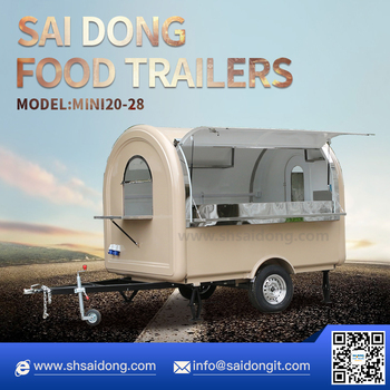 New Design mobile hot dog cart(CE approval)