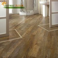UV Surface Treatment and Plastic Flooring Type decorative wood effect serie vinyl click flooring