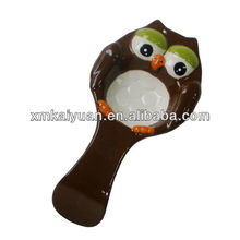 Novelty owl shaped rice food scoop