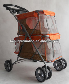 New design twin pet stroller for two dogs buy twin pet for Garden design troller