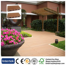 Outdoor Floor Elegant Design Wood Plastic Composite Decking Terrace Flooring WPC Floor