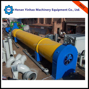 CE Approved Rotary Wood Sawdust Dryer/High frequency vacuum Timber dryer For Hot Sales