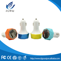 Wholesale factory price 2 USB mobile phone car charger