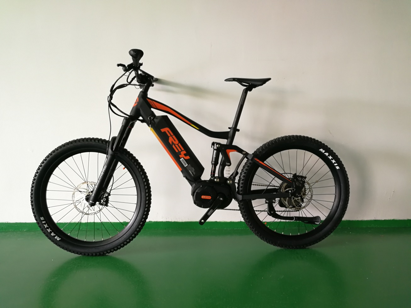 FREY AM1000 Bafang Mid Drive 1000W electric mountain bike full suspension eMTB mountain ebike Enduro ebike