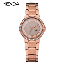 High quality watches luxury brand diamond stainless steel band automatic wristwatch