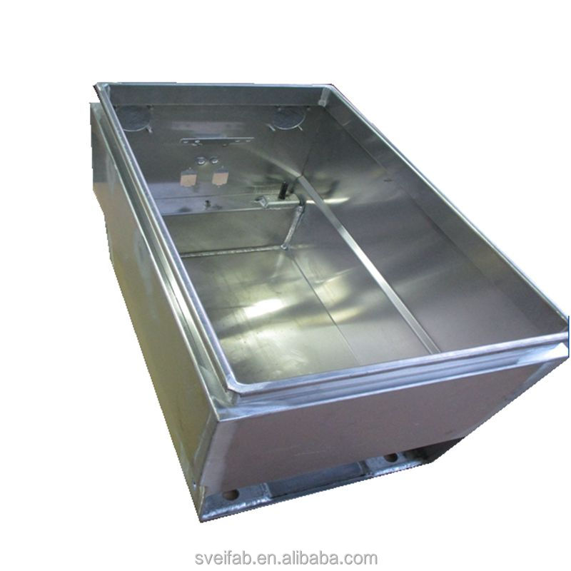 Custom precision sheet metal battery box cabinet stainless