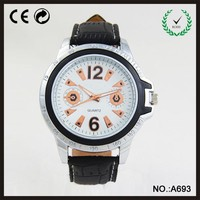 beautiful face leather japan movt quartz watch
