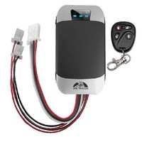 low cost car immobilizer gps tk303 real-time tracking device with ignition alarms