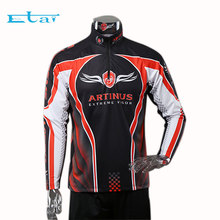 Sublimation Top Wholesale Fishing Shirt UV Protection Quick Dry Clothing Custom Tournament Jersey
