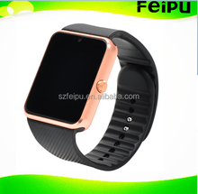 Low Price and High Quality Bluetooth Smart Watch Phone /Wristwatch with Silicone Strap for Android IOS GT08