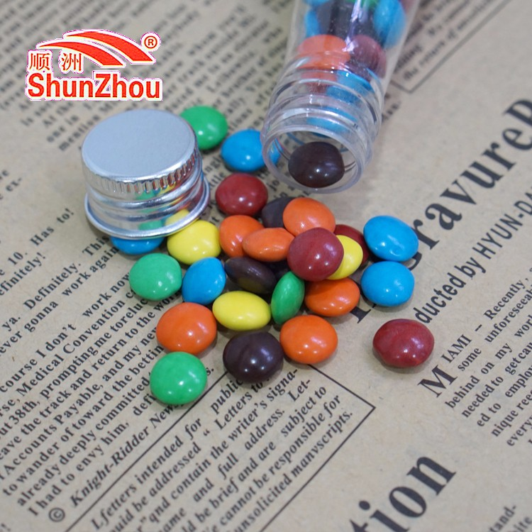55g beer bottle multi color fastener shape crispy chocolate beans sweets