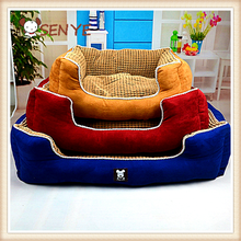 The Quartet Fashion Suede Fabric Corn Kernels Pet Beds For Dog And Cat