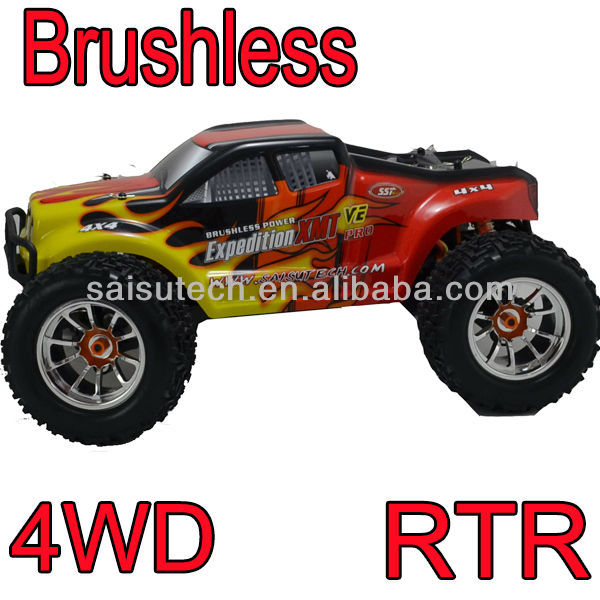 rc truck 1:10 scale AWD off road brushless rc monster truck rc 4 wheel drive trucks