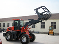 2ton chinese wheel loader with capacity 1.0m3 joysticks/quickchange/A/C are option