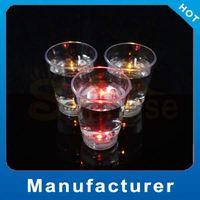 Customized Logo drop shot glass Party Supply