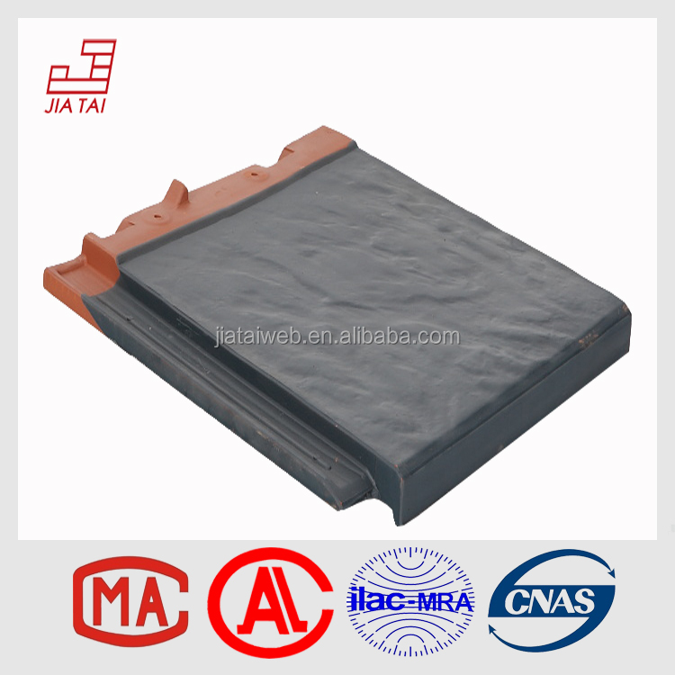 Roofing material energy-saved solar power flat tiles
