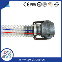 Corrugated Flexible Stainless Steel Wire Braided Rubber Hose With Flange