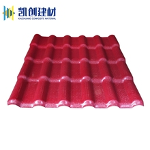 High weather resistant plastic upvc asa coated synthetic resin spanish style roof tiles