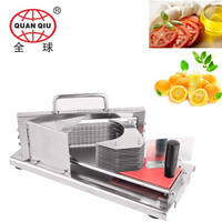 2015 new product promotional manual stainless steel tomato slicer TC-01