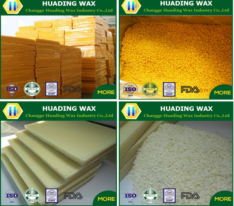 USA standard wholesale yellow and white beeswax pellets for cosmetic