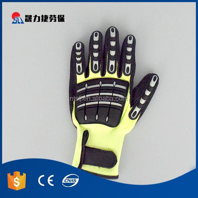Cheap machinery industry protection cotton work gloves
