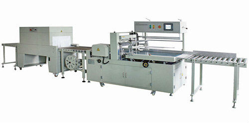 Automatic Continuous Side Sealer and Shrink Wrapping Machine