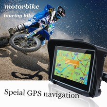 Outdoor gps for motorcycle snowmobile motobike waterproof navigator gps moto