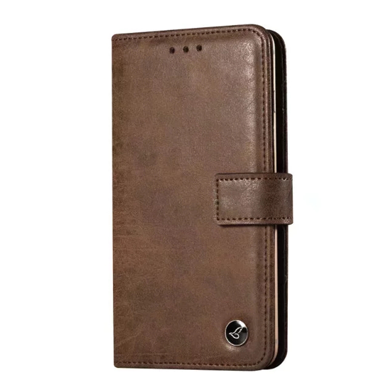 Customized Universal Luxury Leather Flip Cover Cell Phone Case